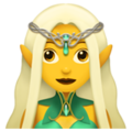 Female Elf. Emoji, Magical, Elf, Elves