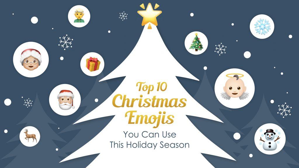 Emojis You Can Use This Holiday Season