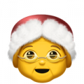 mrs claus emoji