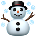 Snowman, White Christmas, Christmas, Merry Christmas, Snow