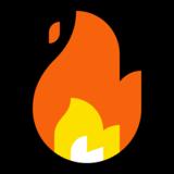 Fire emoji, Fire, Microsoft Fire Emoji, Fire cartoon