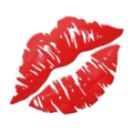 Kiss Mark emoji, Apple version of the Kiss Mark emoji