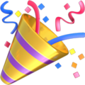 Party Popper emoji