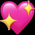 Sparkling Heartemoji