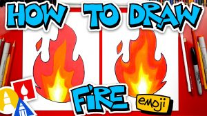 Fire emoji, Fire, Emoji, Draw a fire emoji