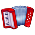 Accordion, Accordion emoji,