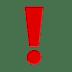 Exclamation Mark, Exclamation Mark emoji, Exclamation Mark symbol