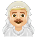 Main In Veil, Man In Veil Emoji, New Emojis For 2020, Man With Wedding Veil
