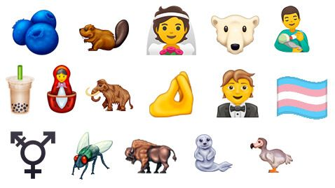 New Empjis For 2020, 2020 Emojis, New Emojis