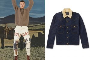 Cowboy chic, Western look for men,Holiday Boileau