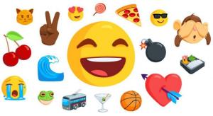 Group of emojis, Emoji group, Question Mark emoji, Emojis on social media