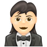 Woman In Tuxedo, Woman In Tuxedo emoji, Woman Wearing Tuxedo, Woman Wearing Tux, New Emojis, 2020 New Emojis