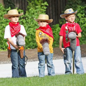 Kids dressing up as cowboys, Kids in cowboy costumes, Cowboy costumes