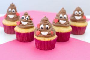 Poop emoji, poop emoji cupcakes, Pile Of Poop emoji