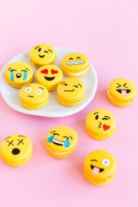 Emoji macaroons, group of emojis, Loudly Crying emoji, Cry emoji, Face With Tears Of Joy emoji, Winking Face With Tongue emoji, Face Blowing A Kiss emoji, Winking Face emoji