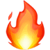 Fire, Fire emoji, Apple version of Fire emoji, Fire symbol