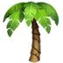 Palm tree, palm tree emoji, palm tree symbol
