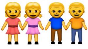 LGBT emojis, Apple's LGBT emojis, Same Sex emojis