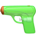 Pistol emoji, Apple version of the Pistol emoji