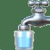 Potable Water sign, Potable Water emoji, Potable Water Apple version
