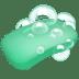 Soap, Green soap, Bar of soap, Soap with bubbles, Soap emoji, Soap emoji on Apple