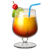 Tropical drink, summer drink, Tropical Drink emoji