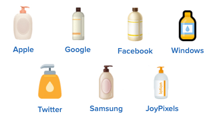 lotion bottle emoji
