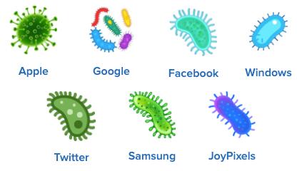 bacteria emoji, microbe emoji