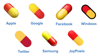 pill emoji