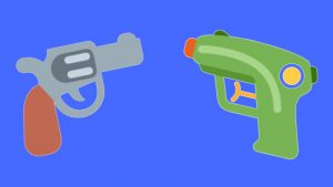 Twitter emoji, Gun emoji on Twitter, Pistol emoji on Twitter, Twemoji Gun emoji, Twemoji Rifle emoji