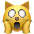 weary cat emoji