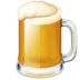 Facebook's version of the Beer emoji, Facebook's Beer emoji, Beer emoji on Facebook