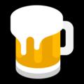 Beer emoji, Beer emoji on Microsoft, Microsoft's Beer emoji