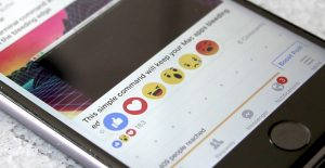 Facebook reactions,Facebook reaction buttons, Facebook reaction emojis