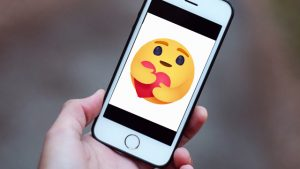 Care emoji, Care reaction, Facebook reactions, Care reaction button