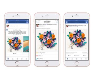 Facebook's Mother's Day Special, Facebook's Mother's Day features, Mother's Day on Facebook, Celebrating Mother's Day on Facebook