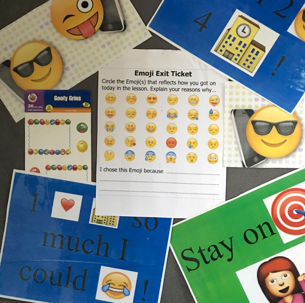 Emoji lessons, emoji exercises