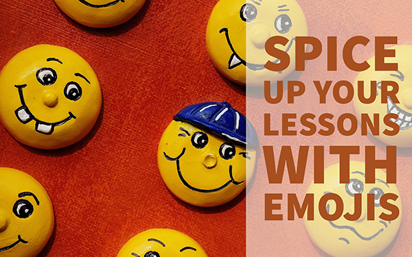 Emojis in education, group of emojis, emojis to learn, Bookwidgets