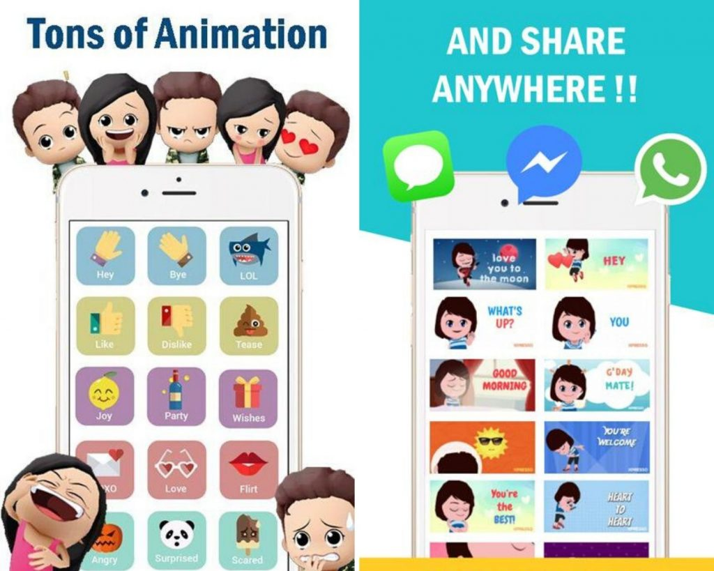 XPRESSO 3D Avatar Anime Animoji Gif Sticker Android version, XPRESSO app, XPRESSO application, XPRESSO Avatar Maker, XPRESSO Gif Maker