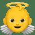 Baby Angel emoji, Apple version of the Baby Angel emoji