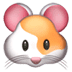 Hamster emoji, Hamster Face emoji, Apple version of the Hamster emoji