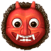 Ogre emoji, Apple version of the Ogre emoji