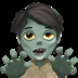 Apple's Zombie emoji, Apple version of the Zombie emoji