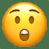 Astonished Face emoji, Apple version of the Astonished Face emoji
