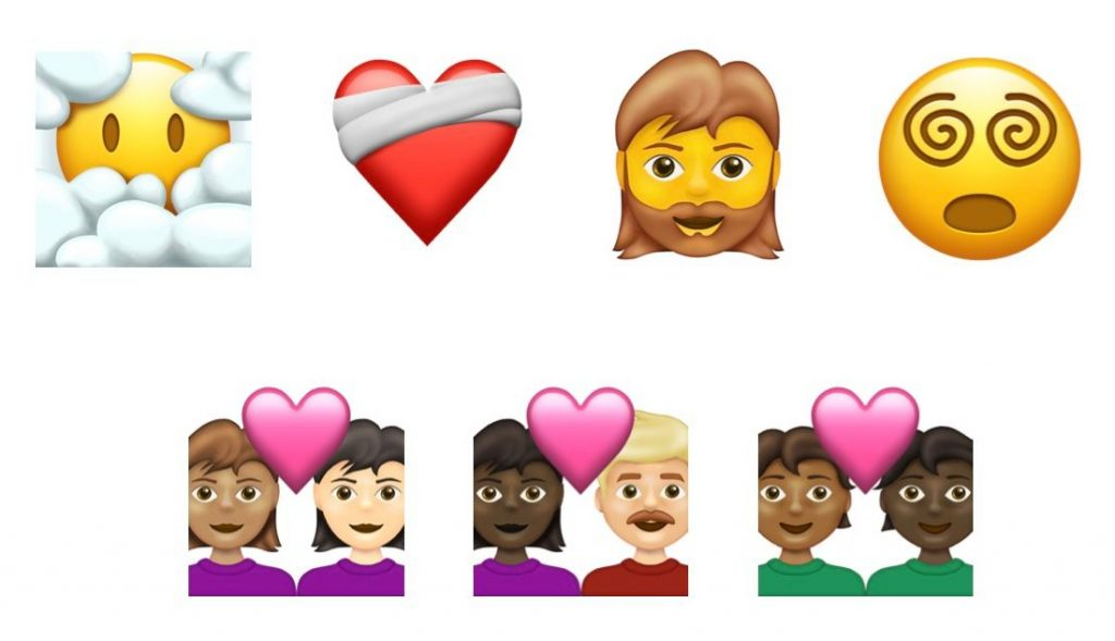 2021 new emojis, Unicode 13.1, Unicode 13.0 minor release