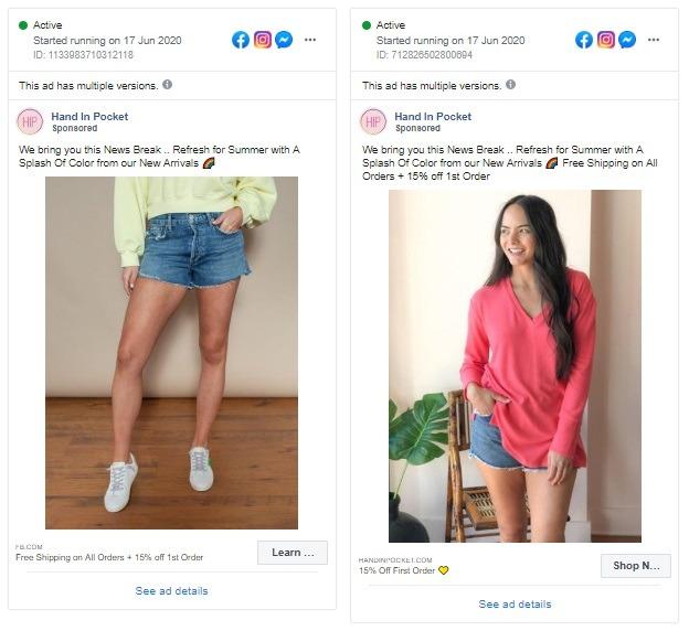Hand In Pocket facebook, Hand In Pocket's social media strategy