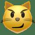 Cat emoji, Cat With Wry Smile emoji, Apple's Cat With Wry Smile emoji