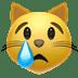 Apple's Crying Cat emoji, Cat emoji, Crying Cat emoji