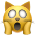 Weary cat emoji, cat emoji, Apple's Weary Cat emoji, Weary Cat emoji Apple version