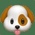 Dog Face emoji, Dog emoji, Apple's Dog emoji